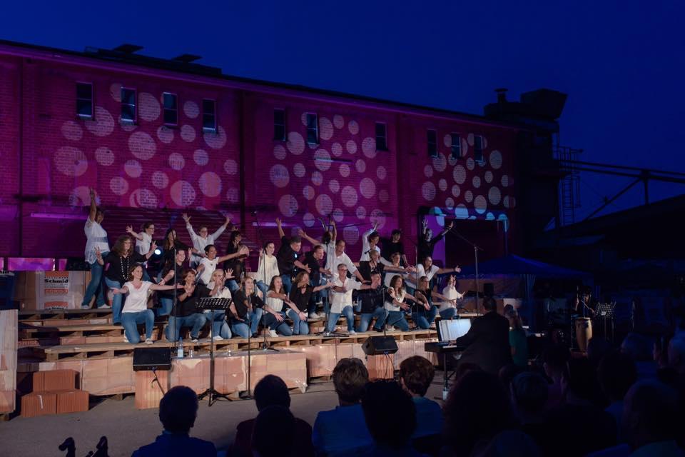 Chor Da Capo Bönnigheim beim Jubiläumskonzert 2017