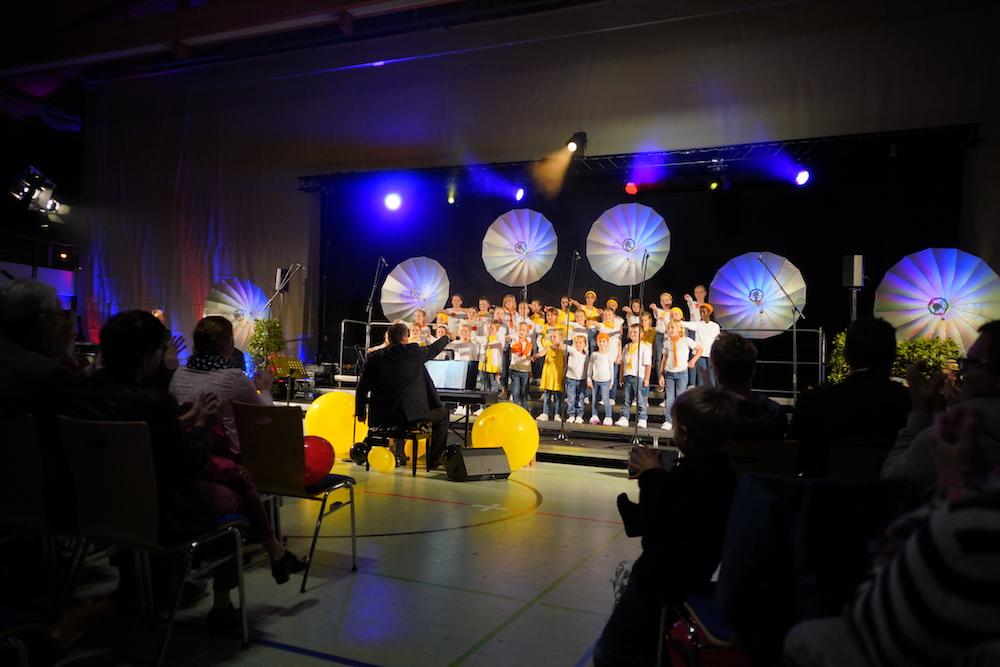 Kinderchor ChOhrwürmer bei da capo sing Deutsch 2019